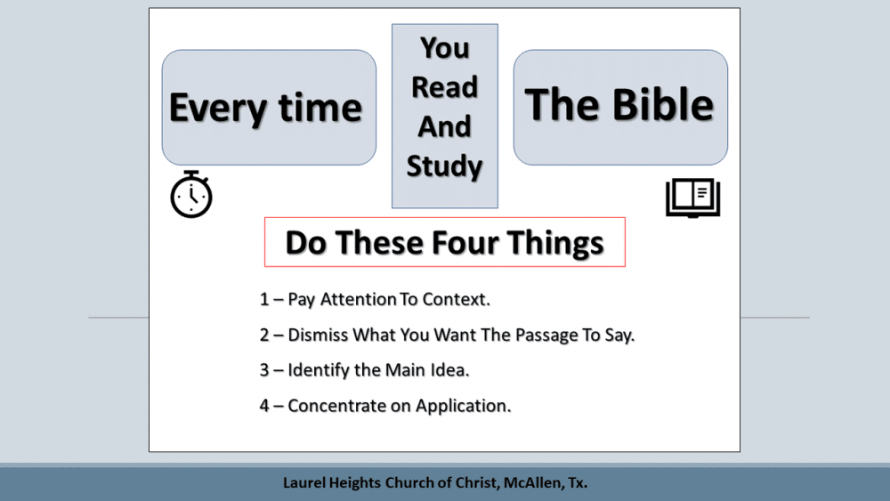 Every Time You Study Your Bible Image