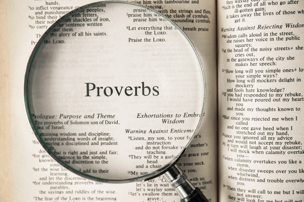 Proverbs Class 3 for Apr. 5 Image