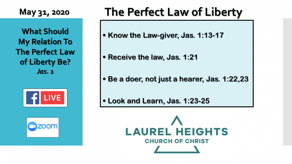 The Perfect Law of Liberty Image