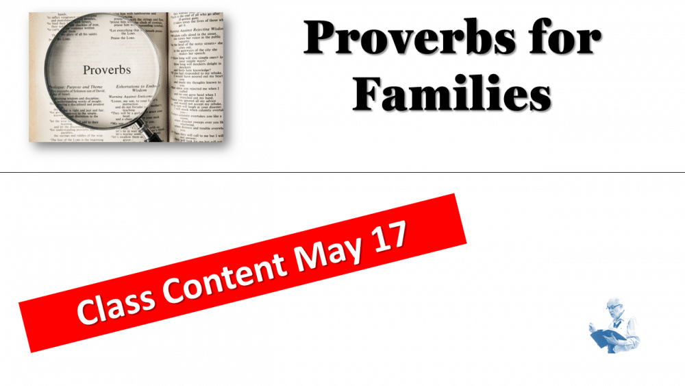 Proverbs Family Passages